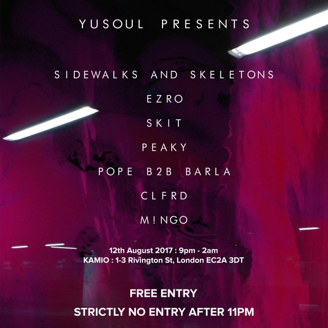 yusoul 12th august 2017 sidewalks and skeletons skit wavemob