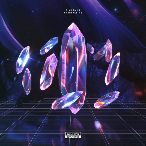 five suns - crystaline EP artwork wavemob